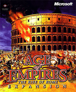 aoe age of empires the rise of rome expansion